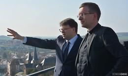 Oberbürgermeister und Bischof treffen sich zu ersten gemeinsamen Gesprächen