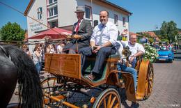 100 Jahre Bimbacher Musikanten: Festumzug begeistert - Bilderserie (2)