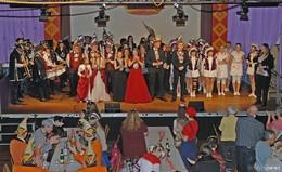 Der Höhepunkt des Sterbfritzer Faschings: Garde- und Showtanzparty