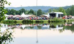 Top-Stimmung: Gelungener Auftakt beim See-Musik-Festival