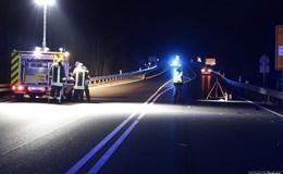 Tödlicher Unfall auf B 27: Fußgänger (55) aus Petersberg von Pkw erfasst