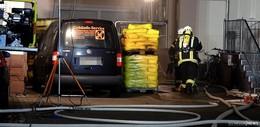 Feuer im Wohn- und Geschäftshaus: Mann ums Leben gekommen