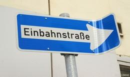 Langebrückenstraße am kommenden Wochenende Einbahnstraße