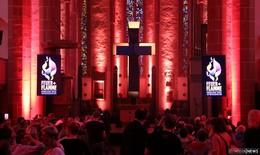 Feurig-flammende Pre-Show für den Hessentag in der Stadtkirche