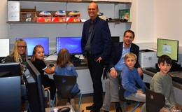 An der Haselbach-Schule in Lispenhausen surfen die Kinder jetzt schneller