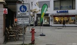 Lieferzeiten in der Fußgängerzone werden eingeschränkt
