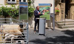 Bayerischer Umweltminister Thorsten Glauber zu Besuch