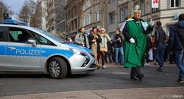 Polizei bilanziert: Narren feiern friedlich - nur kleinere Sachbeschädigungen