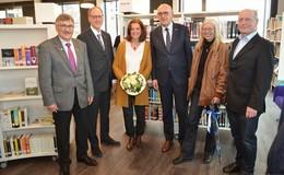 Ort zum Schmökern und Verweilen: Stadtbibliothek wurde offiziell eingeweiht