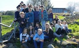 25 Kinder bei der djo-Medienprojektwoche