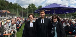 Open-Air-Himmelfahrtsgottesdienst von drei evangelischen Gemeinden