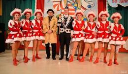 Prinz Dirk der 49. von Rock`n Roll & Helau 50 Jahre KCV regiert