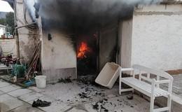 Dachstuhlbrand entpuppt sich als brennende Garage