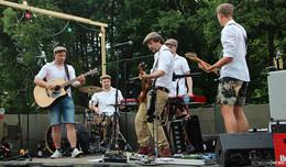 Arschbombenwettbewerb im Freibad Bieberstein