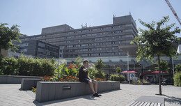 Extreme Hitze belastet Patienten und Personal im Klinikum