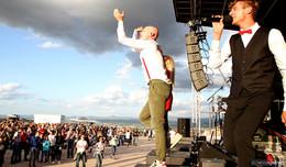 3.000 Menschen rocken das Jubiläumskonzert von music on top