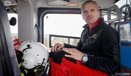 Warum Klinikum-Chef Dr. Menzel im ADAC-Rettungshubschrauber mitfliegt