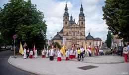 Katholiken feiern Fronleichnam - Bischof Gerber predigt im Dom