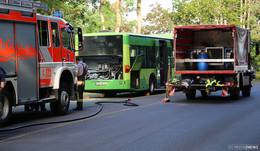 Alarm für Feuerwehr Bad Hersfeld: Motorbrand bei einem Stadtbus