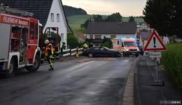 Tödlicher Unfall in Oberbreitzbach - BMW prallt gegen Mauer