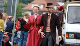 Hessentags-Festumzug: Facettenreicher Lindwurm – Bilderserie (1)