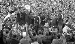 Vor 60 Jahren: Eintrachts erster und bislang einziger Streich