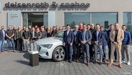 Deisenroth-Audi-Standorte Hünfeld und Alsfeld für Servicequalität ausgezeichnet