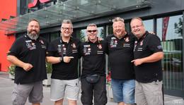 BBQ Wiesel will Deutsche Meisterschaft erringen - Entspannung im 3G-Hotel