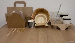 Krankenhaus-Gastronomie hat auf nachhaltiges Verpackungsmaterial umgestellt