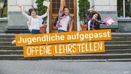 Jugendliche aufgepasst: Offene Lehrstellen - Infos in O|N Lehrstellenbörse
