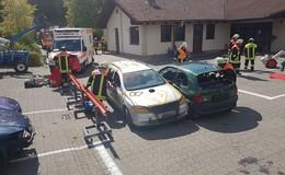Feuerwehr Gersfeld bietet drei Tage lang besonderes Ausbildungsangebot