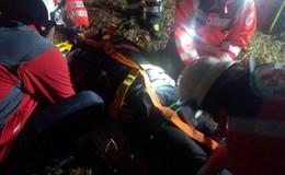 Feuerwehr und DRK üben Notfallrettung: Über 25 Personen im Einsatz