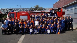 Nachwuchsbrandschützer punkten mit Feuerwehrwissen