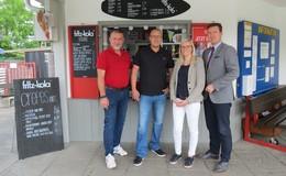 Neue Kiosk-Betreiber überzeugen Bürgermeister