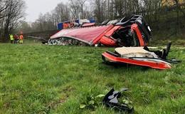 54-Jähriger aus Schotten stirbt bei Lkw-Unfall auf A5