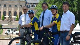 Stadt Fulda will Verkehrssicherheit für Radfahrer und Fußgänger erhöhen