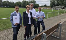 Ehrenamtliches Engagement am Nüsttaler Sportplatz gefördert