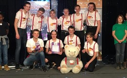 Team des Domgymnasiums startet beim First Lego League-Finale