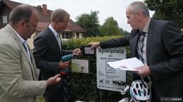"""Beim Programm """"Starkes Dorf - Wir machen mit!"""" werden drei Projekte gefördert"""