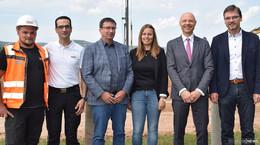 Staatssekretär Dr. Philipp Nimmermann besucht Strabag-Konzern-Lehrwerkstatt