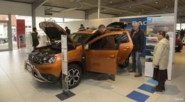 4 Gründe zum Feiern: Dacia Duster sowie Renault Captur, Koleos und Kadjar