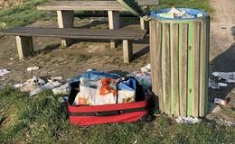 Abfallproblematik in Osthessen: Müllhalde statt Mülleimer