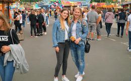 Mission Schützen- und Volksfest: Nina und Luisa drehen am (Riesen-)Rad