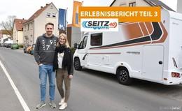 Seitz Caravaning schickt Luisa und Philipp mit Peppi Richtung Süden