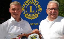 Lions-Club: Uwe Hedrich übergibt Amt an seinen Nachfolger Christian Bolduan