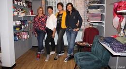Neue Abteilung: Modegeschäft Andrea Mode mit Accessoire-Ecke