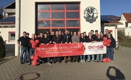 135 neue Registrierungen: Typisierungsaktion der Feuerwehr Wölfershausen