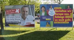 Können Wahlplakate überzeugen? - Europa-Wahlkampf läuft schleppend