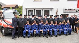 Lüdermünd ist stolz! Neues Einsatzfahrzeug und Jugendfeuerwehr-Gründung