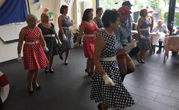 Stimmungsvolles Sommerfest im DRK Seniorenzentrum St. Lioba